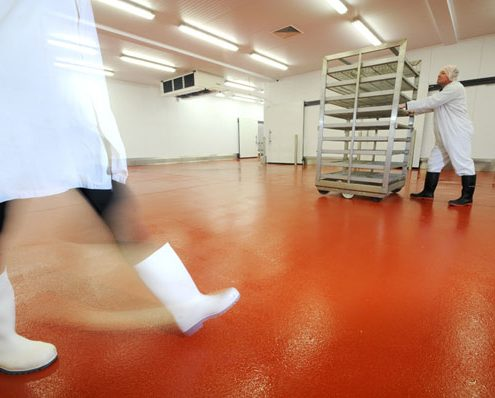 FOOD AND HEALTH INDUSTRIES FLOORING