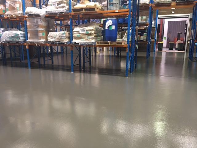 Company floor